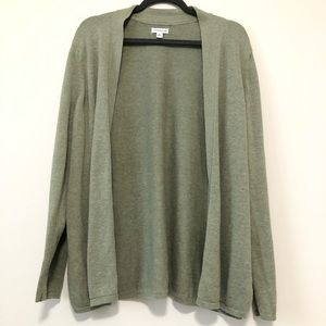 Crofts&Barrow Green Cardigan